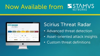 Stamus Networks Announces General Availability of Scirius Threat Radar – a New Module for its Network Detection and Response Solution