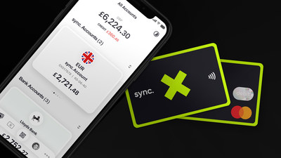 sync. has launched across Europe with an innovative money app that utilises Open Banking, and the eye-catching sync. X card, powered by Mastercard.