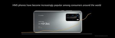 Los teléfonos HMS se han vuelto cada vez más populares entre los consumidores de todo el mundo (PRNewsfoto/Huawei Consumer Business Group)