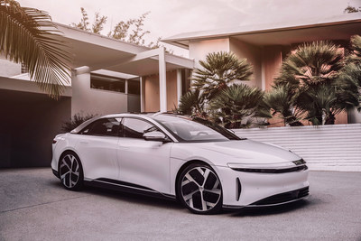 Lucid Motors has optimized interior cabin space for occupants