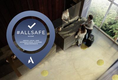 La marca de limpieza e higiene ALLSAFE de Accor se desarrolló conjuntamente con Bureau Veritas, líder mundial en pruebas, inspección y certificación. (CNW Group/Accor)