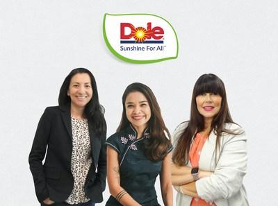 Pictured (L-R): Kimberly Galante, Peewee Dizon and Dr Lara Ramdin