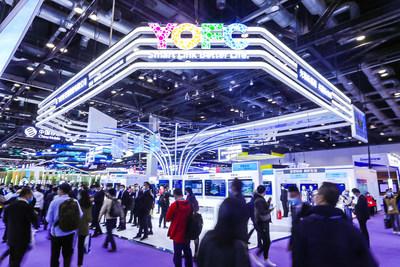 Stand de YOFC en Exhibición internacional de información y comunicaciones China 2020 (PRNewsfoto/YOFC)