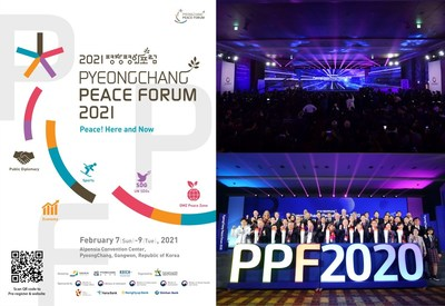 "PyeongChang Peace Forum 2021, ""Peace! Here and Now"""