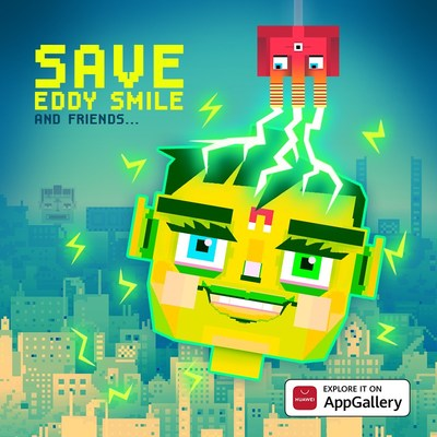 Save Eddy Smile en AppGallery (PRNewsfoto/AppGallery)