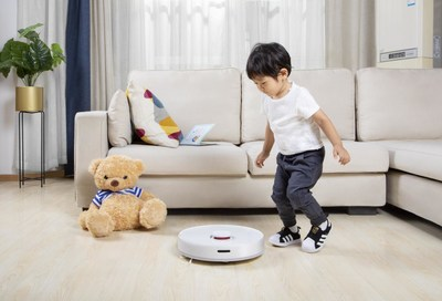 TROUVER Launches Superconvenient 'Finder' Robot Vacuum Cleaner for Customers in Europe.