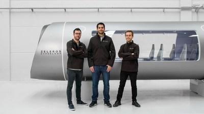 L-R: CTO Daniel Orient, CEO David Pistoni, and CMO Juan Vicén Balaguer