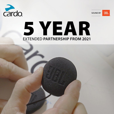 Cardo Systems extends partnership with JBL