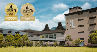 Kavalan wins 2021 World Whisky Producer of the Year Trophy and Tourism Awards Trophy at the International Spirits Challenge