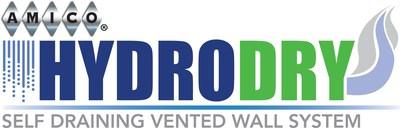 AMICO HydroDry Self-Draining Vented Wall System